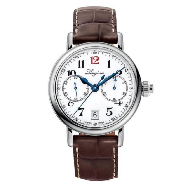 浪琴手表怎么样?浪琴红12多功能计时手表