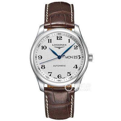 浪琴名匠系列经典款双历腕表,细节深度评测
