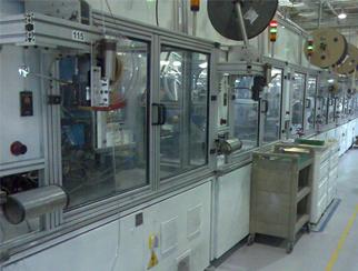 CCTL线性模组 滑台在自动插端子机上的应用