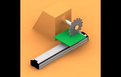 电动滑台模组应用于电路板切割作业