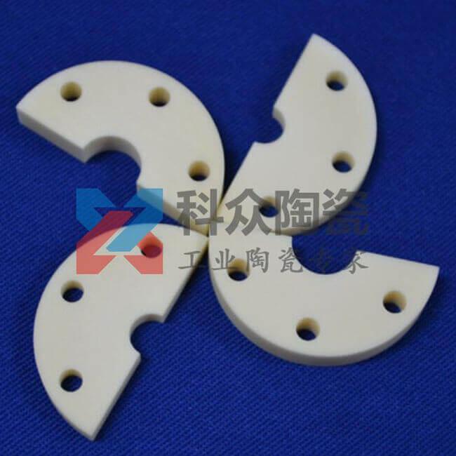 纳米精密氧化锆陶瓷异形圆片