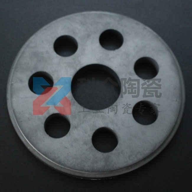 碳化硅精密陶瓷的原料为碳化硅