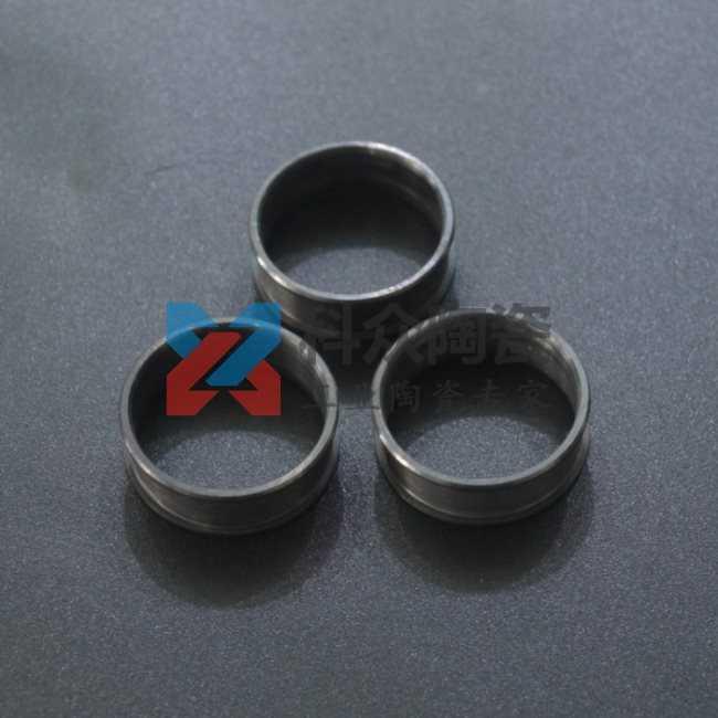 黑色精密氧化锆戒指