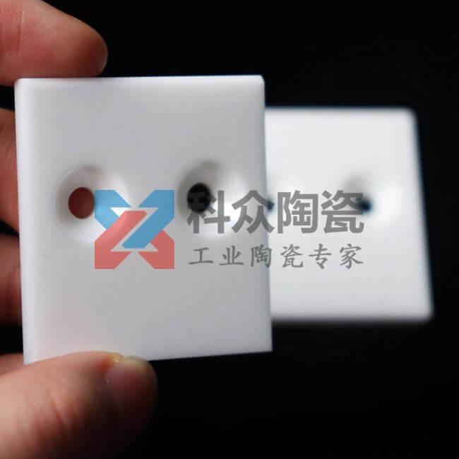 氧化锆白色方形精密陶瓷片