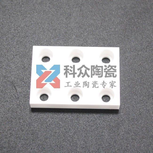 氧化锆白色方形精密陶瓷片加工