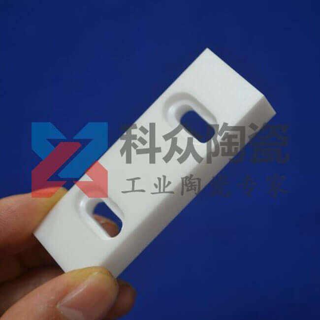 氧化锆半导体精密陶瓷开槽加工