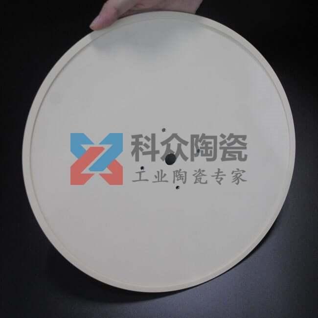 99氧化铝精密陶瓷大圆盘加工