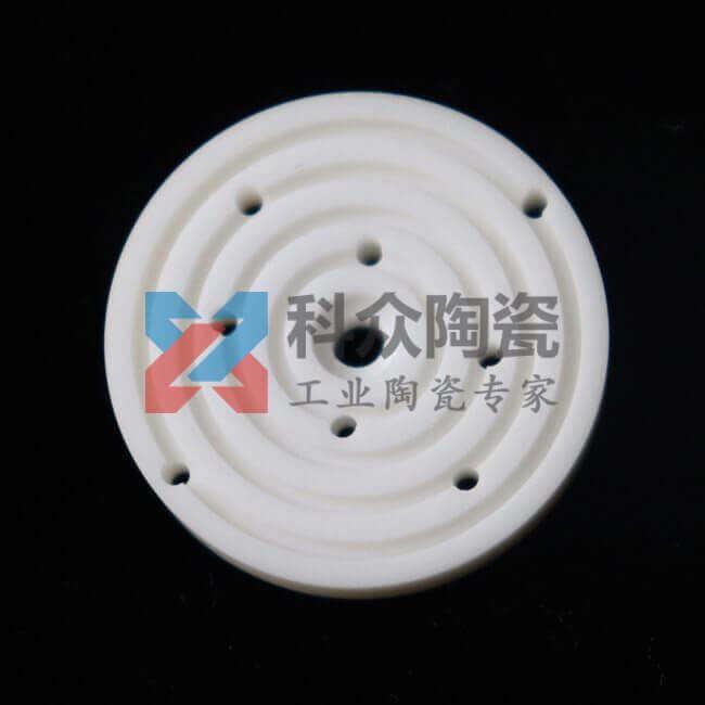 95氧化铝精密陶瓷环精加工