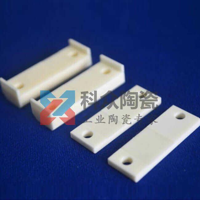 99氧化铝精密陶瓷板打孔加工