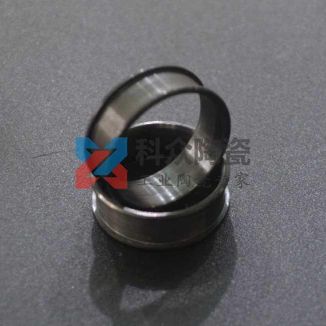 碳化硅精密陶瓷零件圆环加工