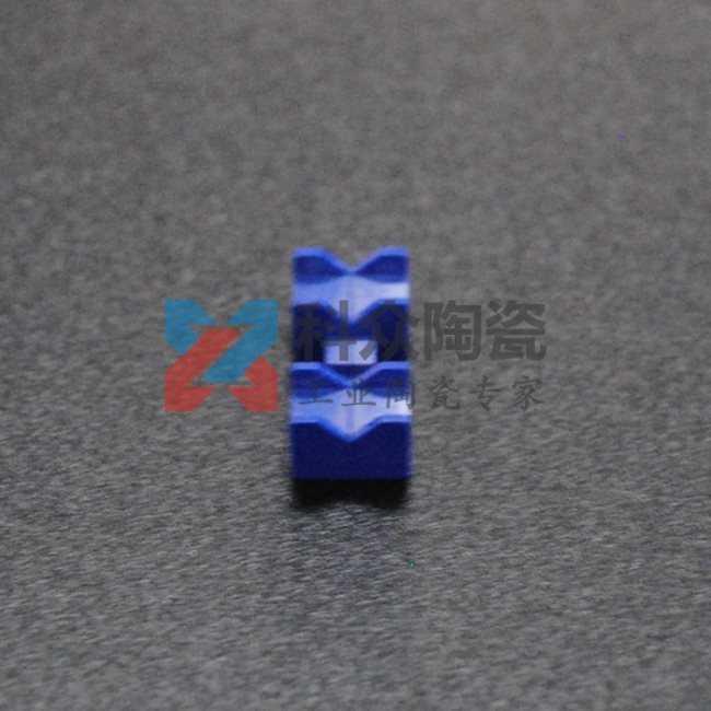 蓝色氧化锆精密陶瓷结构件