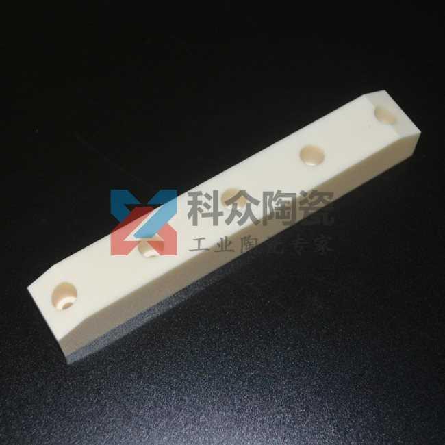 99氧化铝精密陶瓷结构件加工