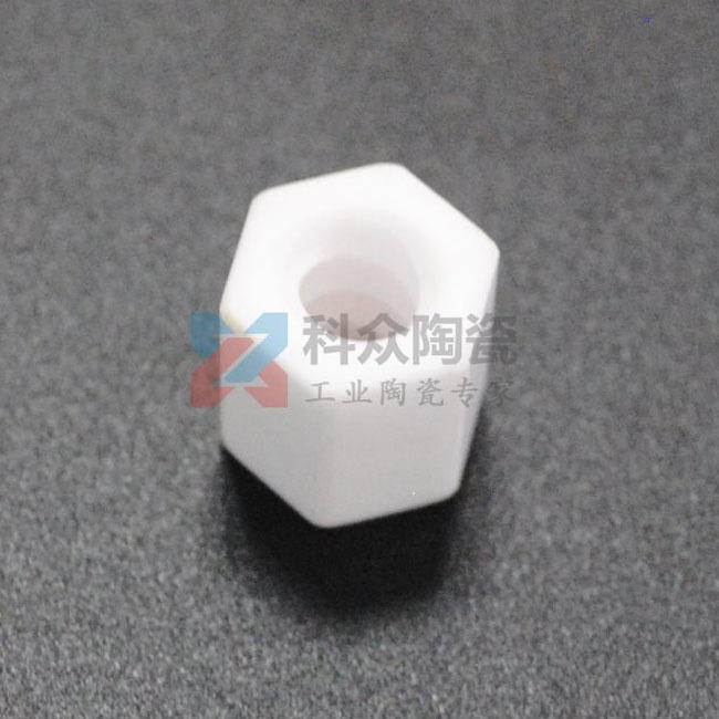 六角氧化铝精密陶瓷螺母