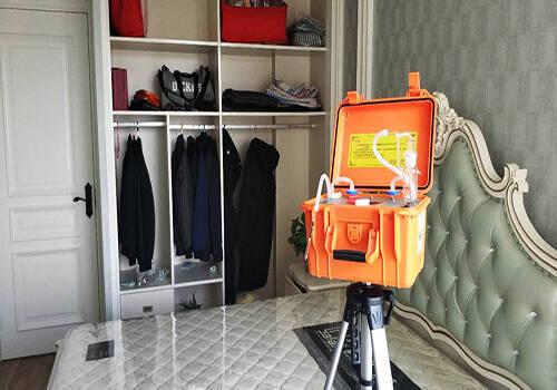 武汉新房甲醛检测视频案例