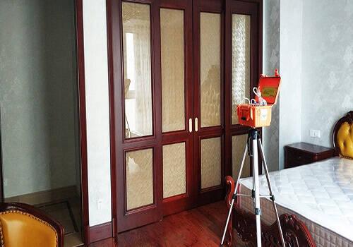 洪山鄂旅投书院世家新装修房屋除甲醛检测案例