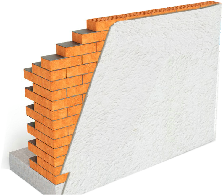 Gauros Fireproof and Waterproof Thermal Insulation Mortar For Roof And Wall