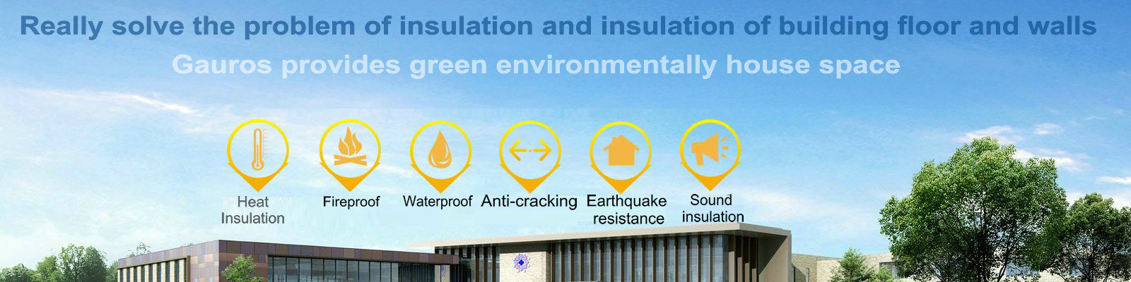 heatproof thermal insulation material for house