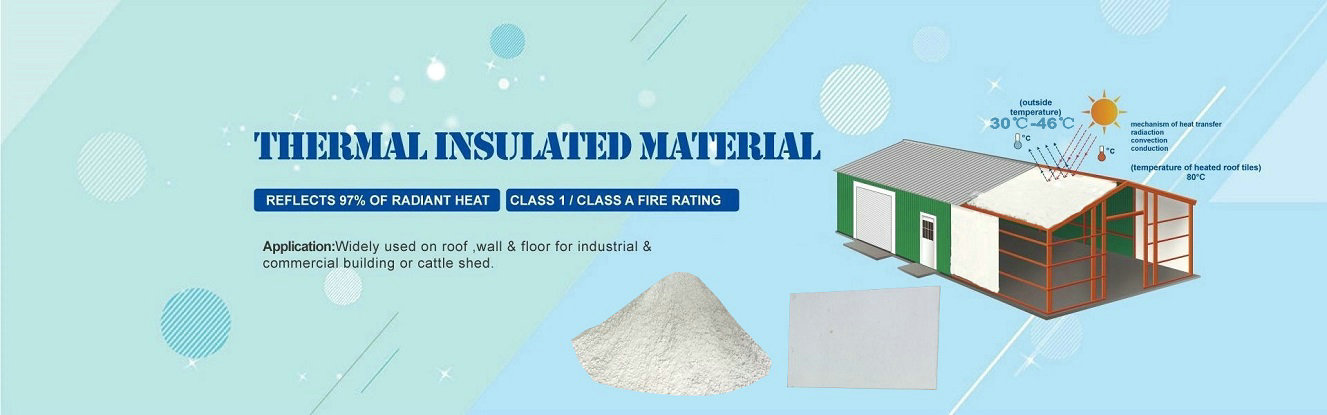 thermal insulation material for house wall