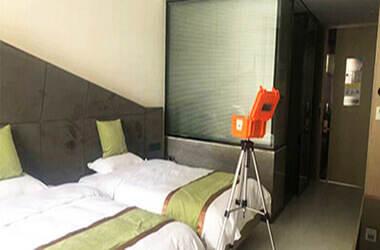 青山綠地香樹花城室內空氣甲醛檢測案例