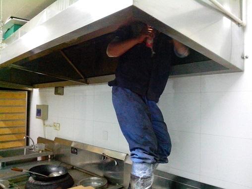 海底捞餐厅油烟机清洗