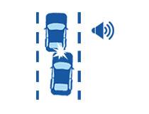 汽车盲点监测系统功能车辆碰撞预警