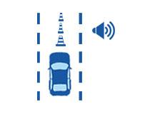 汽车盲点监测系统功能障碍物碰撞预警