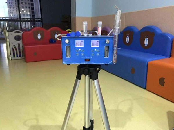 室内空气甲醛的测定要选择能出具CMa检测报告的机构处理