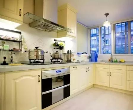 轻钢别墅厨房