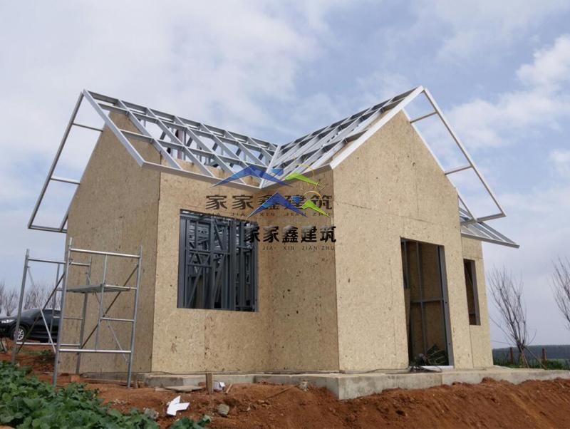 外墙osb板材铺设