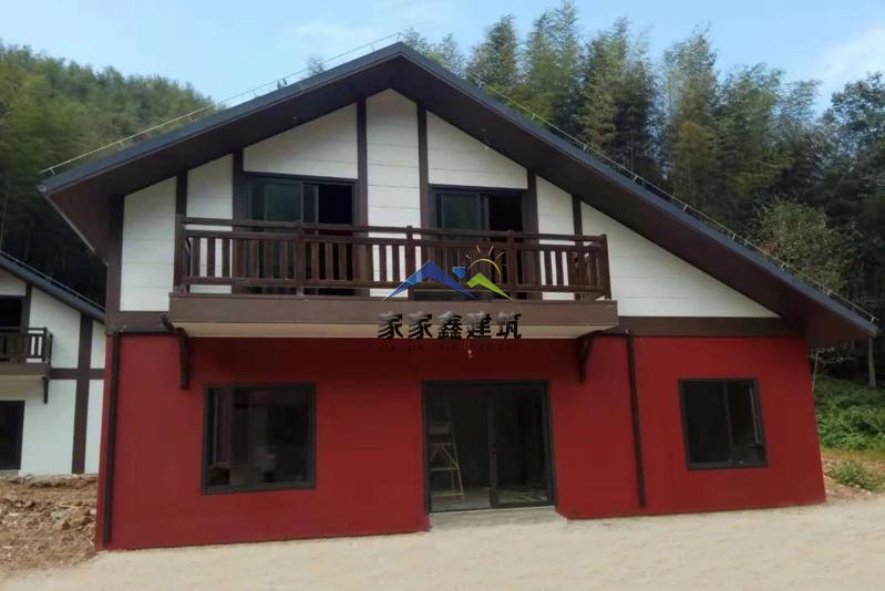 赤水竹海轻钢房屋效果图