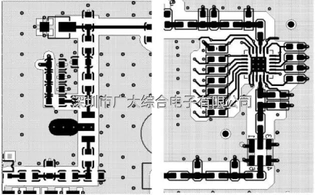 L形和U字形布局设计高频板