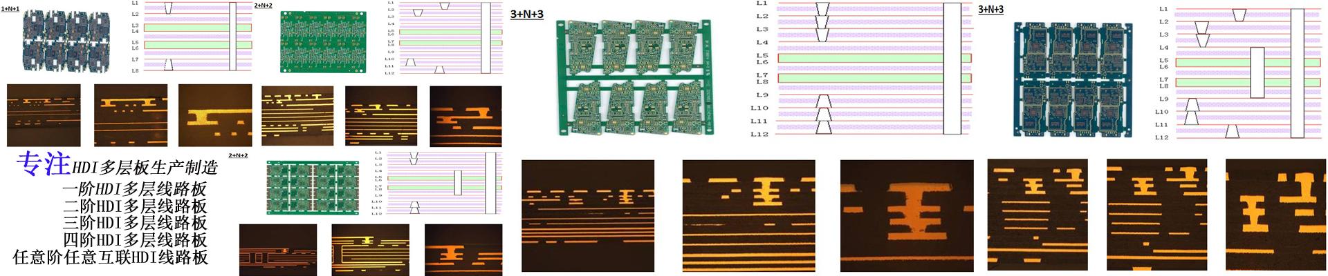 三阶HDI电路板