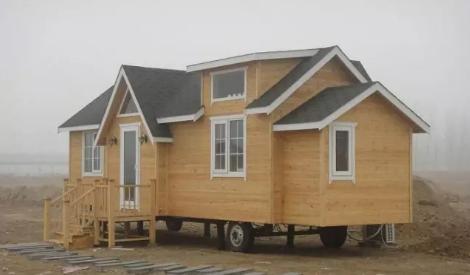轻钢结构移动别墅 ,现代休闲新选择