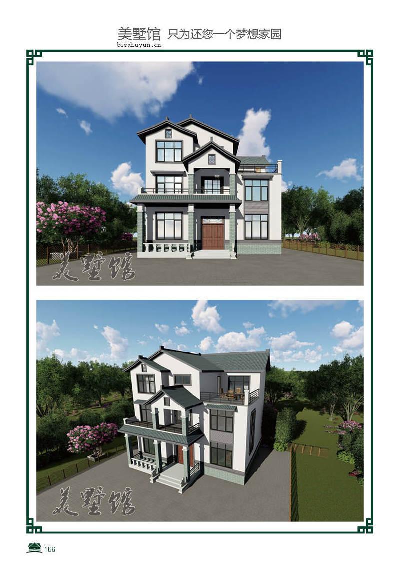 三层轻钢别墅建筑面积360占地面积136.8