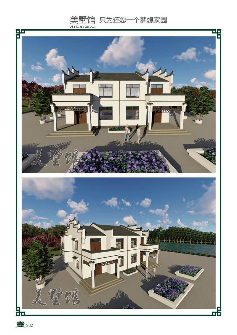 二层轻钢别墅建筑面积347.9占地面积182.9