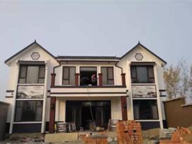 重庆忠县王先生180平二层轻钢别墅施工案例展示