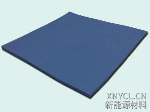 一款灰黑色3W导热硅胶片材料