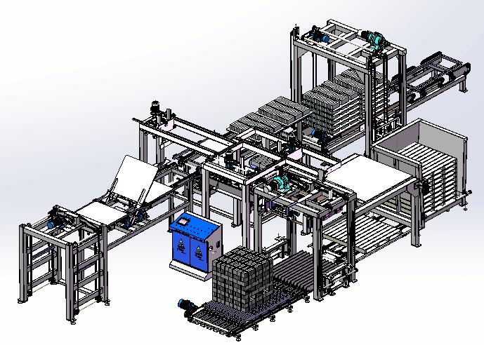 智能码砖机