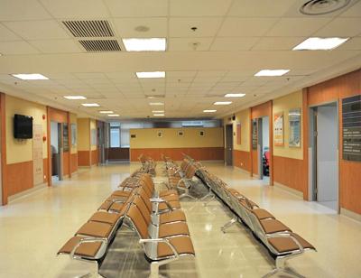 体检中心休息区