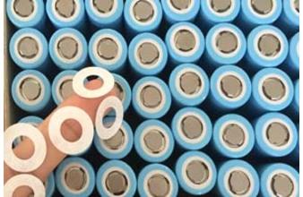 18650电池自动贴绝缘片 锂电池绝缘片贴辅料
