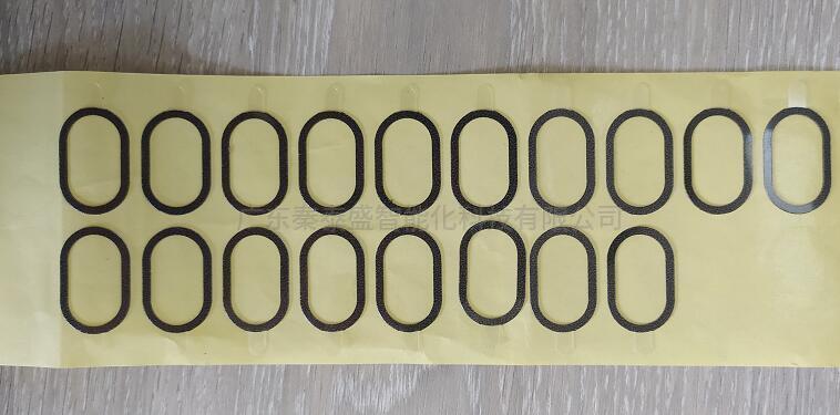 喇叭行业贴防尘网辅料喇叭行业贴防尘网辅料 喇叭贴双面胶机