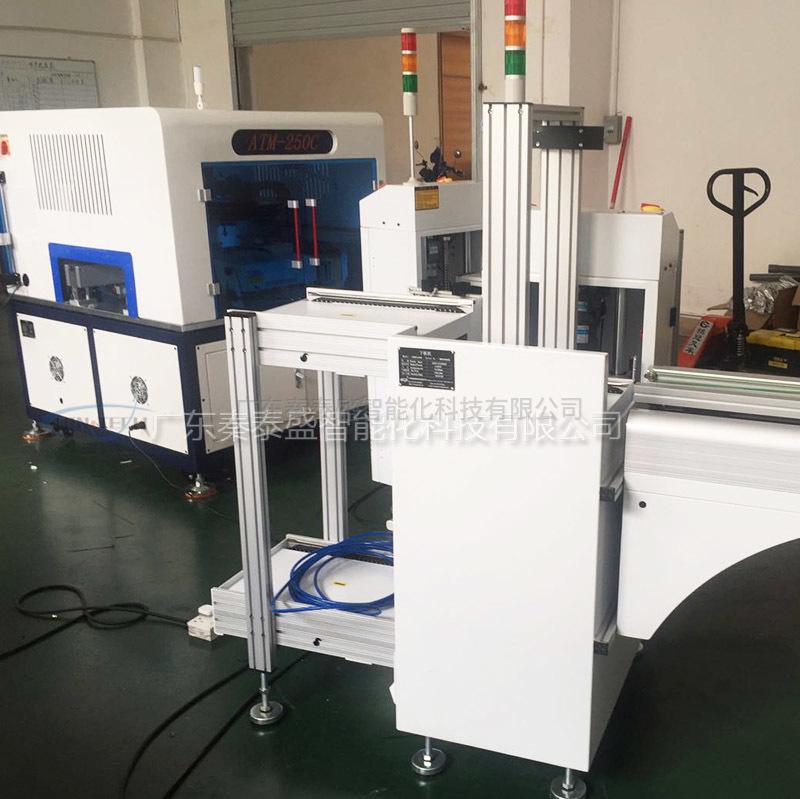 秦泰盛SMD全自动单面胶贴标机