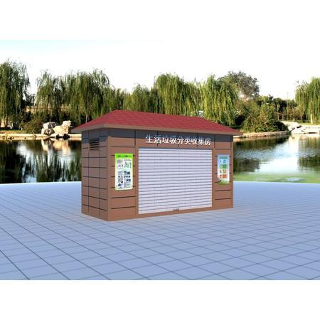 海南海口学校景区分类垃圾房