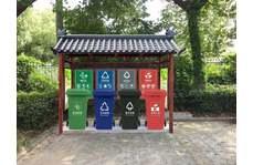 垃圾分类亭可以让垃圾回收更便捷