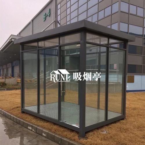 不同材质吸烟亭的尺寸