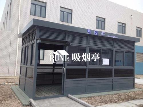 广东梅州文明吸烟亭厂家