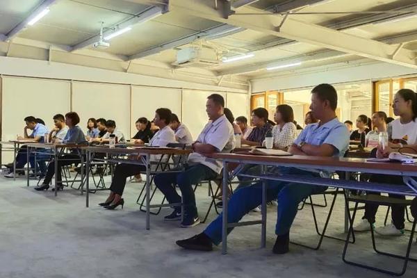 尊龙公司举行驻外办事处全员新品培训会