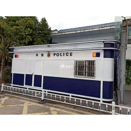 警务岗亭有哪些材质化、尺寸