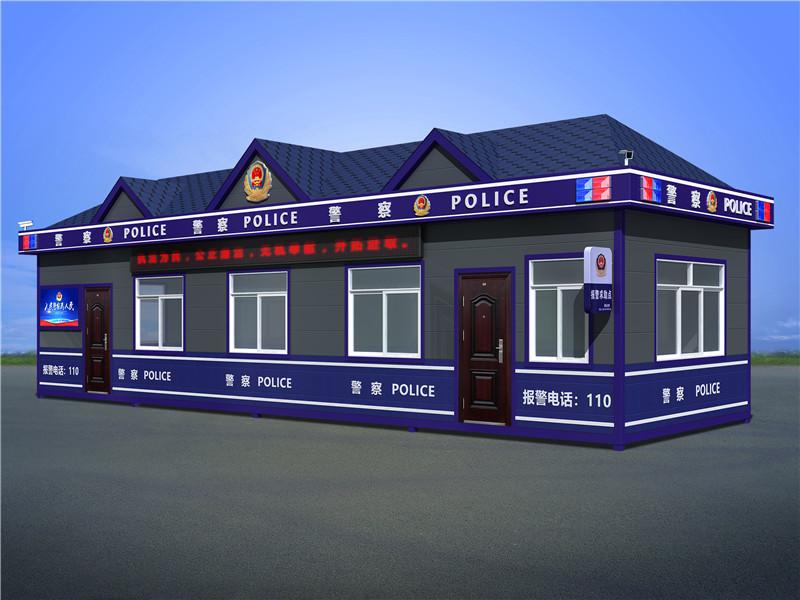 武威高铁火车站公安治安执勤岗亭定制