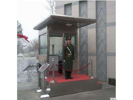 武警防弹玻璃执勤岗亭